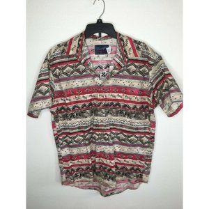 Wrangler X-Long Tails Men's Shirt Cowboy Aztec
